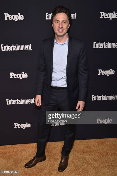 Zach Braff attends the Entertainment Weekly and PEOPLE Upfronts party presented by Netflix and Terra Chips at Second Floor on May 15 2017 in New York...