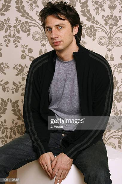 Zach Braff during 31st Annual Toronto International Film Festival 'The Last Kiss' Portraits at Portrait Studio in Toronto Ontario Canada