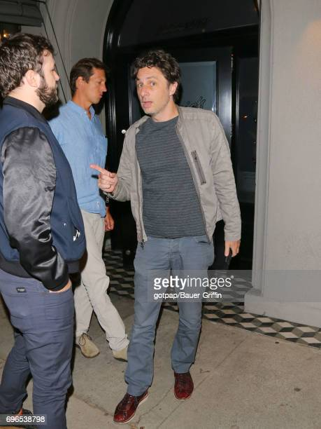 Zach Braff is seen on June 15 2017 in Los Angeles California