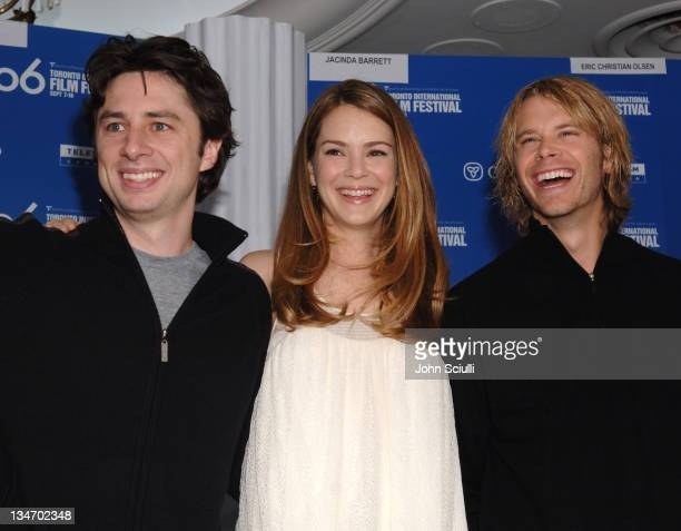Zach Braff Jacinda Barrett and Eric Christian Olsen