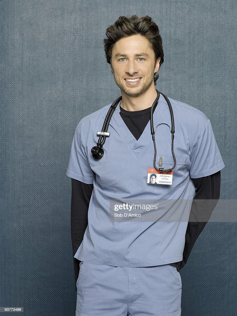 SCRUBS - Zach Braff stars as John 'J.D.' Dorian in the ABC Television Network's 'Scrubs.'