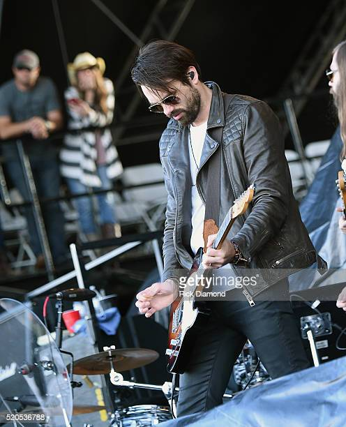 Zach Brown of A Thousand Horses performs at County Thunder Music Festivals Arizona Day 4 on April 10 2016 in Florence Arizona