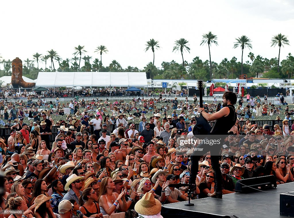 Zach Brown of A Thousand Horses performs onstage during 2016 Stagecoach California's Country Music Festival at Empire Polo Club on May 01, 2016 in Indio, California.