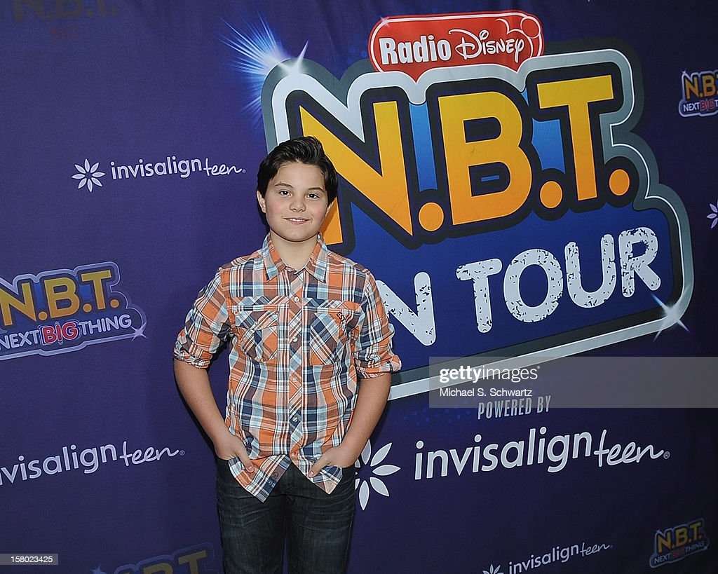 Zach Callison arrives at the Radio Disney's 'N.B.T.' (Next BIG Thing) Season 5 winner and finale event at The Americana at Brand on December 8, 2012 in Glendale, California.