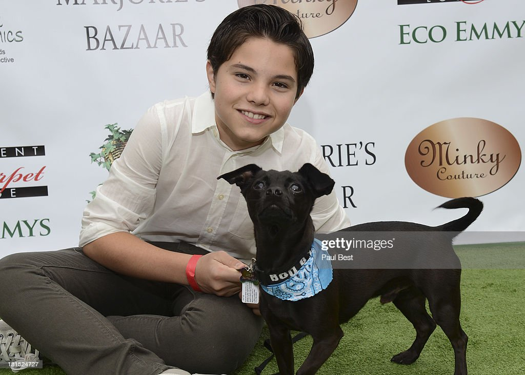 Zach Callison attends 7th Annual Eco Emmys Empowering Women Pre-Emmys Party on September 21, 2013 in Los Angeles, California.