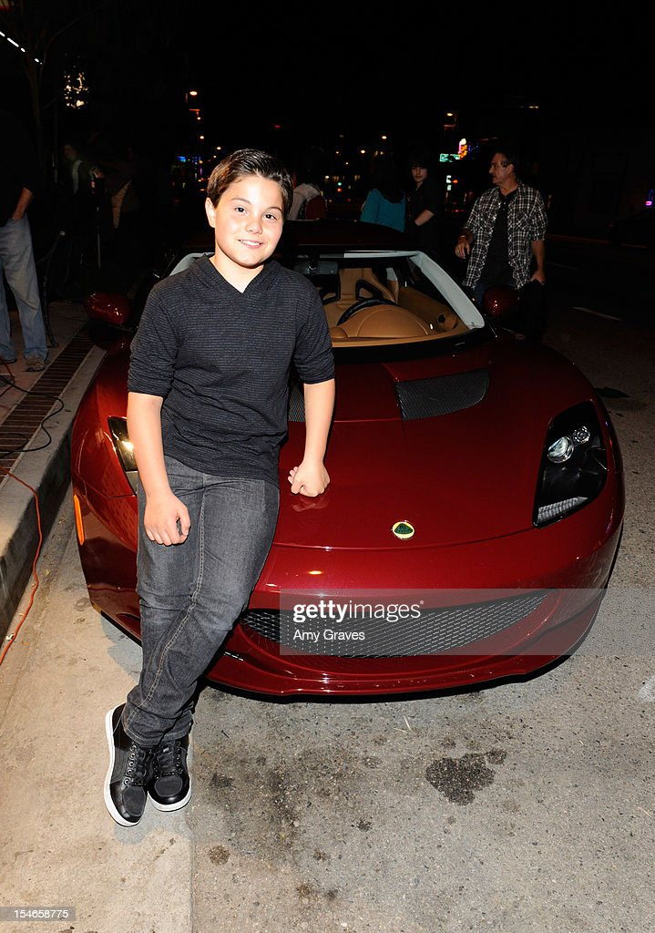 Zach Callison attends the 'Rock Jocks' Screening to Celebrate his 15th Birthday on October 23, 2012 in Hollywood, California.