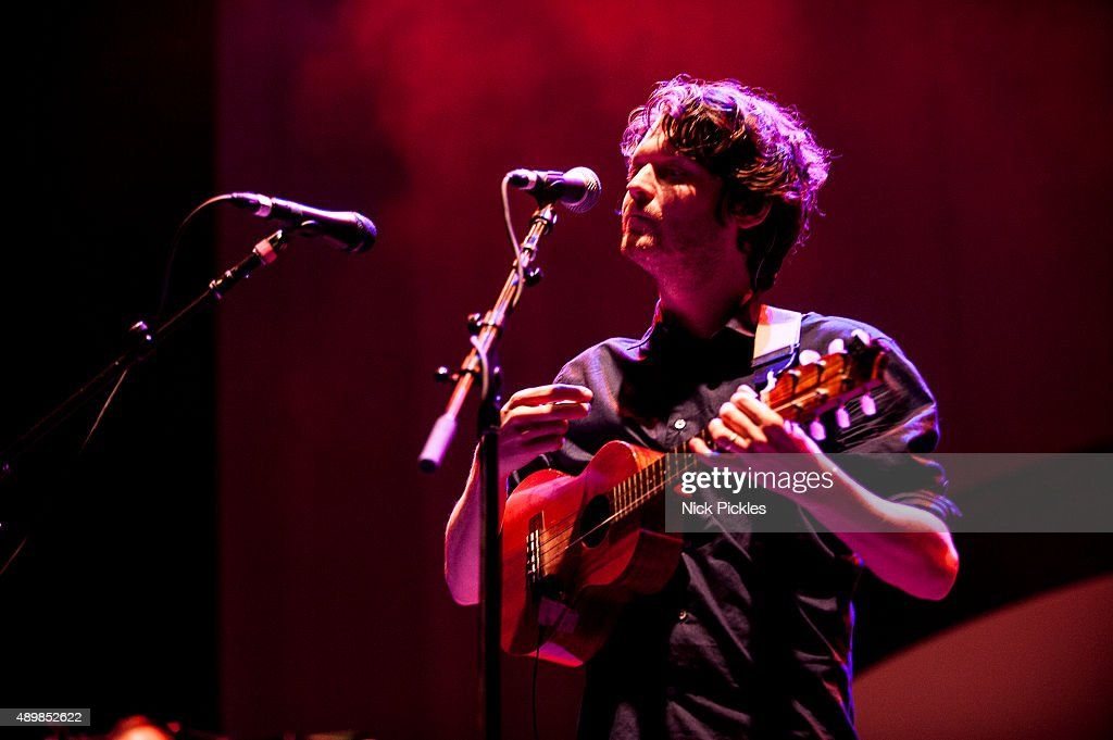 Zach Condon of Beirut performs at O2 Academy Brixton on September 24 2015 in London England