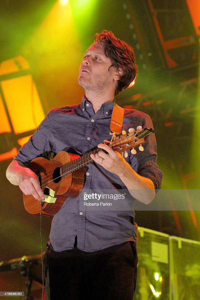 Zach Condon of Beirut performs during the 2015 Festival International de Jazz de Montreal on June 26 2015 in Montreal Canada