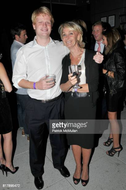 Zach DeWitt and Marya Davidson attend ASSOCIATION to BENEFIT CHILDREN Junior Committee Fundraiser at Gansevoort Hotel on September 14 2010 in New...
