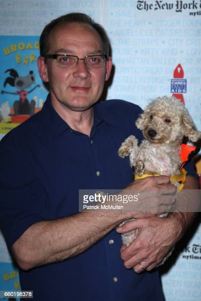 Zach Grenier and attend BROADWAY BARKS 11 a PAWPULAR Star Studded Dog and Cat Adopta Thon at Shubert Alley on July 11 2009 in New York City