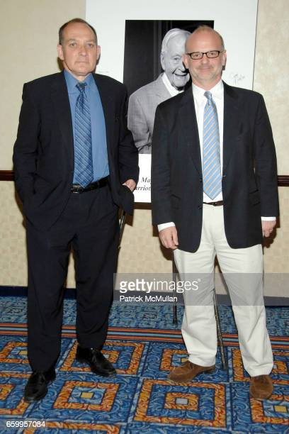 Zach Grenier and Michael Korie attend NEW DRAMATISTS 60th Annual Spring Luncheon To Honor The Late HORTON FOOTE at Marriott Marquis on May 19 2009 in...