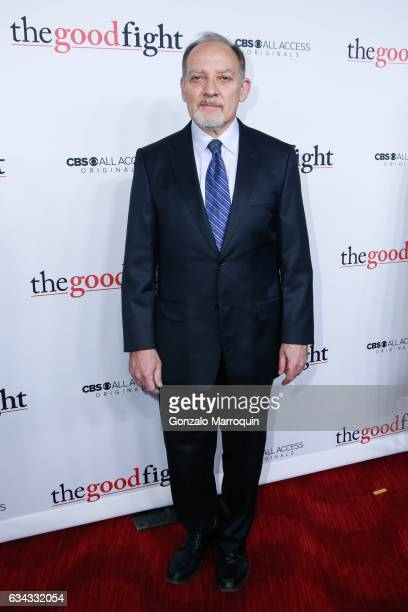 Zach Grenier at the 'The Good Fight' World Premiere at Jazz at Lincoln Center on February 8 2017 in New York City