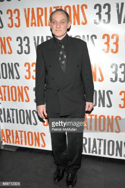 Zach Grenier attends Opening Night of 33 VARIATIONS Party Arrivals at Buddakan on March 9 2009 in New York City