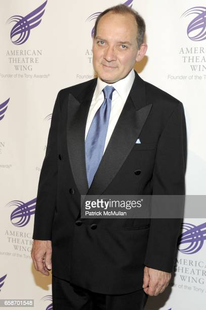 Zach Grenier attends THE AMERICAN THEATRE WING'S 2009 Spring Gala at Cipriani 42nd Street on June 01 2009 in New York City