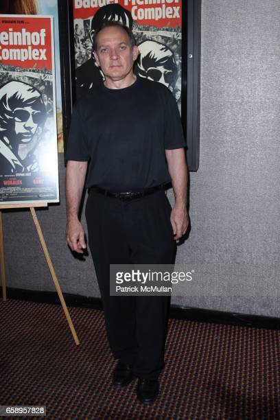 Zach Grenier attends THE ATLANTIC Hosts a New York Screening of VITAGRAPH FILMS THE BAADER MEINHOFF COMPLEX at Cinema 2 on August 12 2009 in New York...