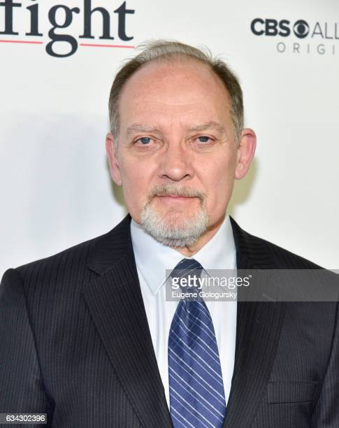 Zach Grenier attends 'The Good Fight' world premiere at Jazz at Lincoln Center on February 8 2017 in New York City
