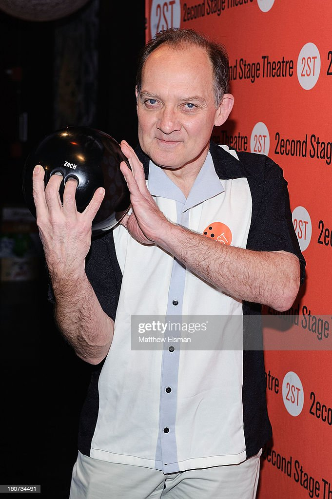 Zach Grenier attends the Second Stage Theatre 2013 Bowling Classic at Lucky Strike on February 4, 2013 in New York City.
