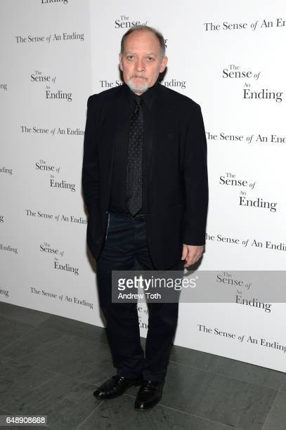 Zach Grenier attends 'The Sense Of An Ending' New York screening at The Museum of Modern Art on March 6 2017 in New York City