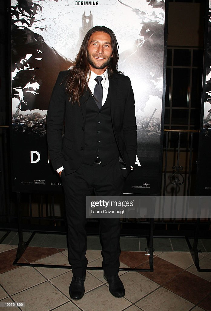 Zach McGowan attends 'Dracula Untold' New York Premiere at AMC Loews 34th Street 14 theater on October 6, 2014 in New York City.