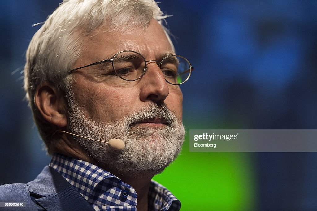 Zach Nelson, chief executive officer of NetSuite Inc., pauses during a speech at the Rise conference in Hong Kong, China, on Tuesday, May 31, 2016. The conference runs through June 2. Photographer: Justin Chin/Bloomberg via Getty Images
