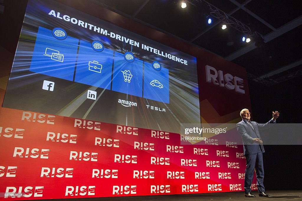 Zach Nelson, chief executive officer of NetSuite Inc., speaks during the Rise conference in Hong Kong, China, on Tuesday, May 31, 2016. The conference runs through June 2. Photographer: Justin Chin/Bloomberg via Getty Images