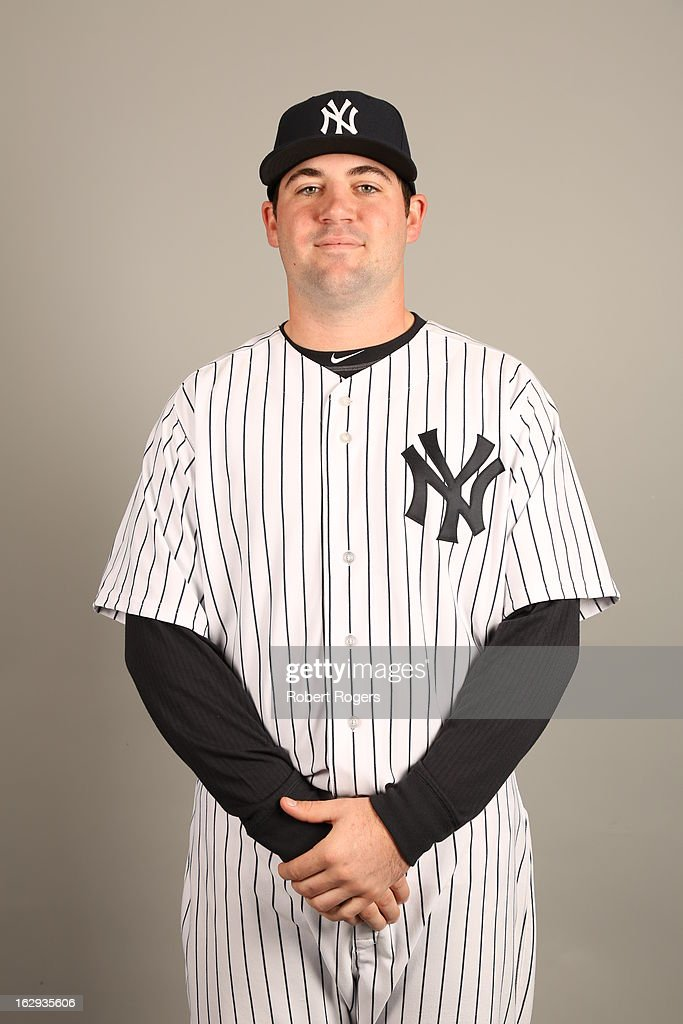 Zach Nuding #95 of the New York Yankees poses during Photo Day on February 20, 2013 at George M. Steinbrenner Field in Tampa, Florida.