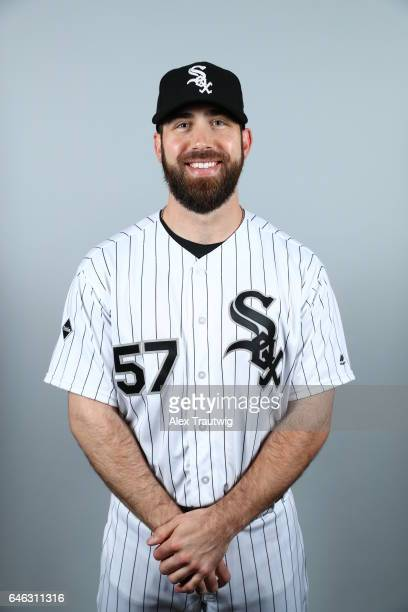 Zach Putnam of the Chicago White Sox poses during Photo Day on Thursday February 23 2017 at Camelback Ranch in Glendale Arizona