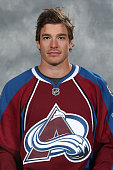 Zach Redmond of the Colorado Avalanche poses for his official headshot for the 20142015 NHL season on September 18 2014 in Denver Colorado