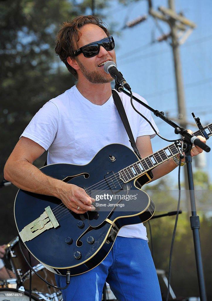 Zach Rogue of Rogue Wave performs at Bottle Rock Napa Valley Festival at Napa Valley Expo on May 12, 2013 in Napa, California.