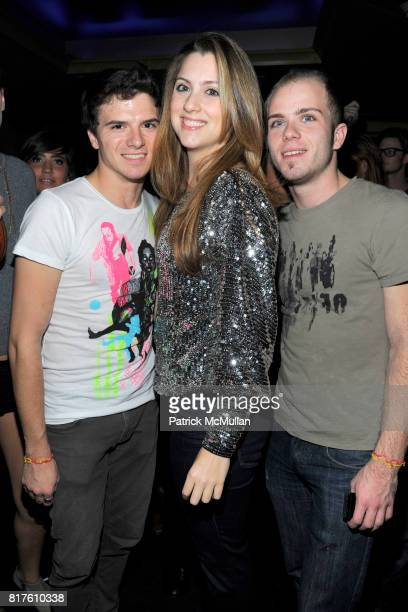 Zach Scabo Alexendra Plasencia and attend LADY MONIKA Hosts The VMAN Party Art Basel Closing Night Party at Coco de Ville on December 4 2010 in Miami...