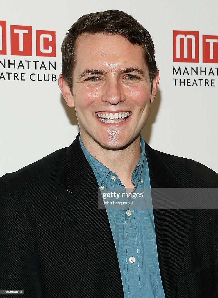 Zach Shaeffer attends the 'Taking Care Of Baby' Opening Night at New York City Center on November 19, 2013 in New York City.