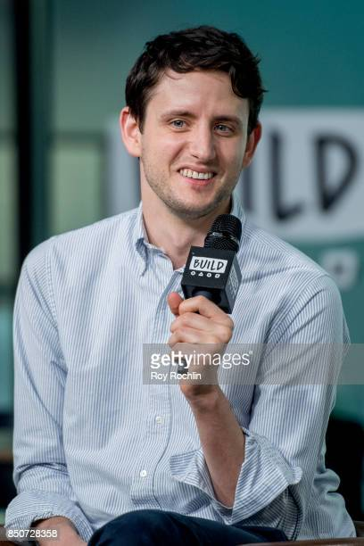 Zach Woods discusses 'The LEGO Ninjago Movie' with the Build Series at Build Studio on September 21 2017 in New York City