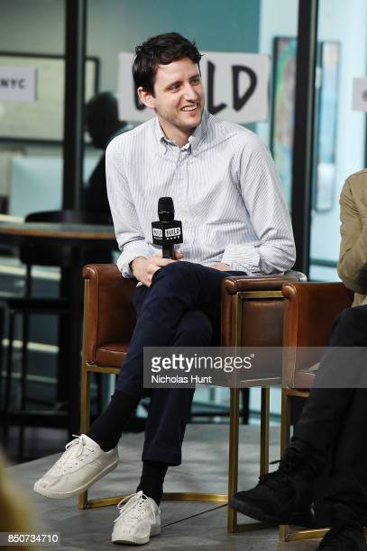 Zach Woods visits the Build Series to discuss the animated film 'The LEGO Ninjago Movie' at Build Studio on September 21 2017 in New York City