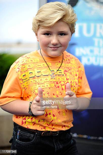 Zachary Alexander Rice arrives at the premiere of Sea World San Diego's 'Turtle The Incredible Journey' on June 21 2011 in San Diego California