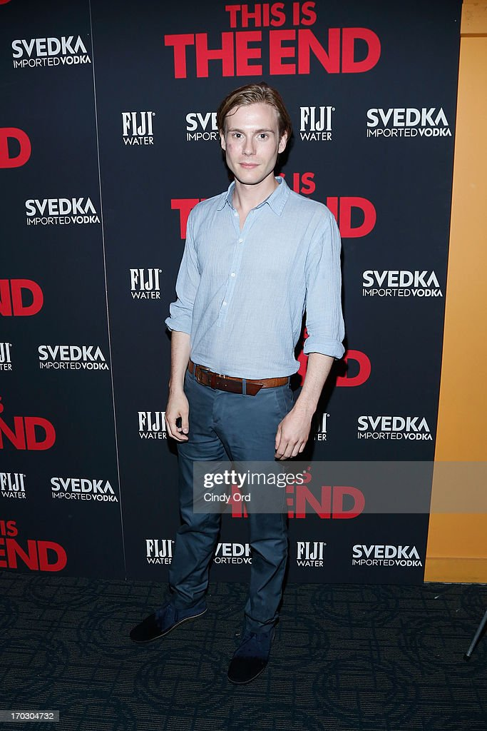 Zachary Booth attends 'This Is The End' New York Premiere at Sunshine Landmark on June 10, 2013 in New York City.