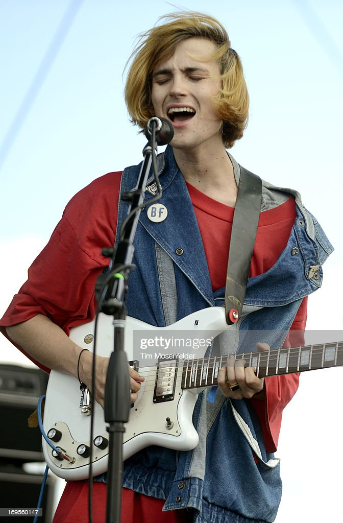 Zachary Cole of DIIV performs as part of Day 3 of the Sasquatch Music Festival at the Gorge Amphitheatre on May 26 2013 in George Washington