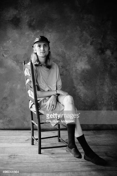 Zachary Cole Smith of DIIV poses for a portrait at the Governors Ball 2015 Music Festival for Billboard Magazine on June 6 2015 in New York City