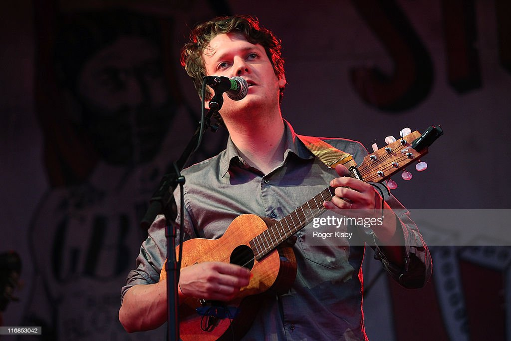Zachary Condon of Beirut performs onstage during the 2011 Northside Music Festival at McCarren Park on June 17 2011 in the Brooklyn borough of New...