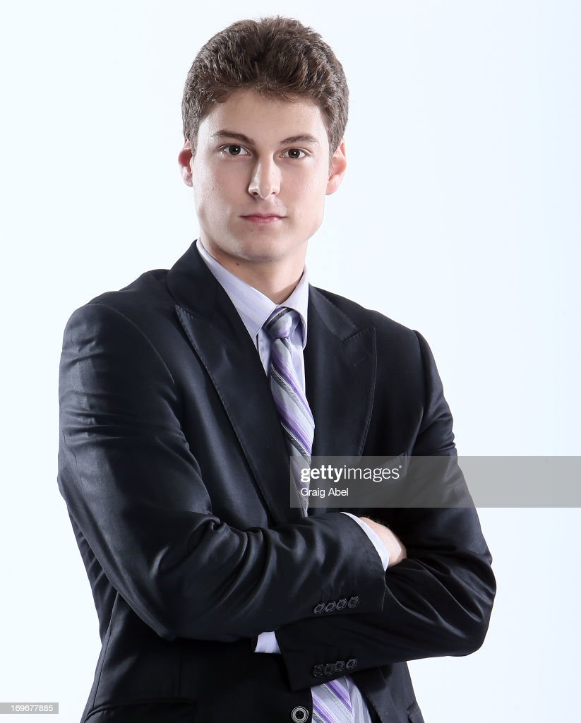 Zachary Fucale has his formal portrait taken during the 2013 NHL Combine May 30, 2013 at the Westin Bristol Place Hotel in Toronto, Ontario, Canada.