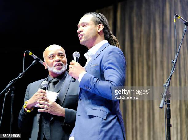 Zachary Kiesch speaks onstage at the 35th Anniversary Mother's Day Weekend Gospelfest 2017 at Prudential Center on May 13 2017 in Newark New Jersey
