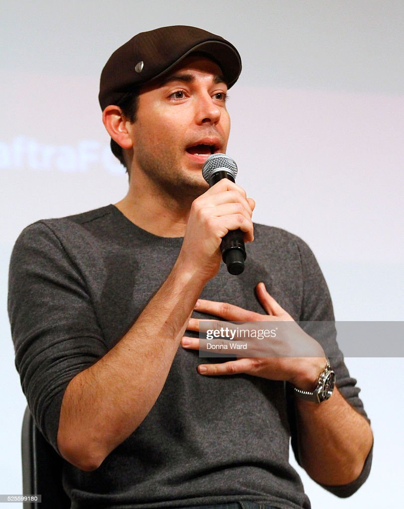 <a gi-track='captionPersonalityLinkClicked' href=/galleries/search?phrase=Zachary+Levi&family=editorial&specificpeople=242766 ng-click='$event.stopPropagation()'>Zachary Levi</a> appears to discuss 'She Loves Me' during the SAG-AFTRA Foundation Conversations series at The New School on April 28, 2016 in New York City.