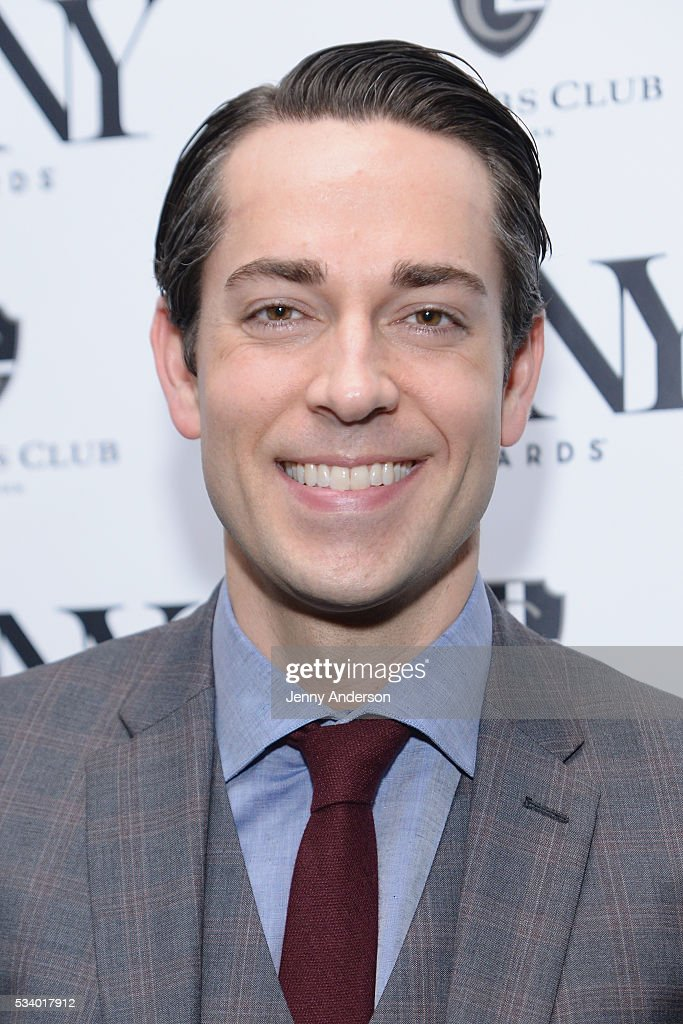 <a gi-track='captionPersonalityLinkClicked' href=/galleries/search?phrase=Zachary+Levi&family=editorial&specificpeople=242766 ng-click='$event.stopPropagation()'>Zachary Levi</a> arrives at A Toast To The 2016 Tony Awards Creative Arts Nominees at The Lambs Club on May 24, 2016 in New York City.