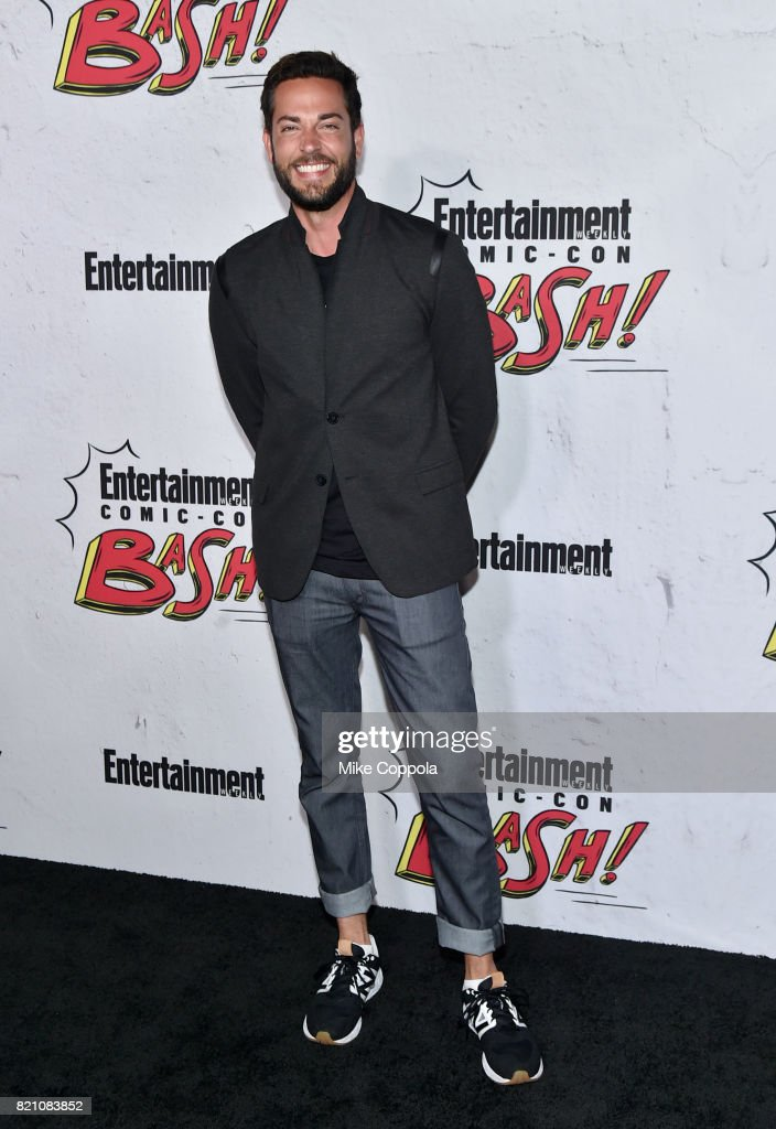 Zachary Levi at Entertainment Weekly's annual Comic-Con party in celebration of Comic-Con 2017 at Float at Hard Rock Hotel San Diego on July 22, 2017 in San Diego, California.