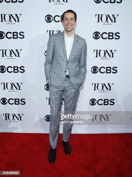 Zachary Levi attends 2016 Tony Awards Meet The Nominees Press Junket at Diamond Horseshoe at the Paramount Hotel on May 4 2016 in New York City