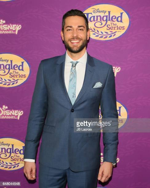 Zachary Levi attends a screening of Disney's 'Tangled Before Ever After' on March 04 2017 in Beverly Hills California