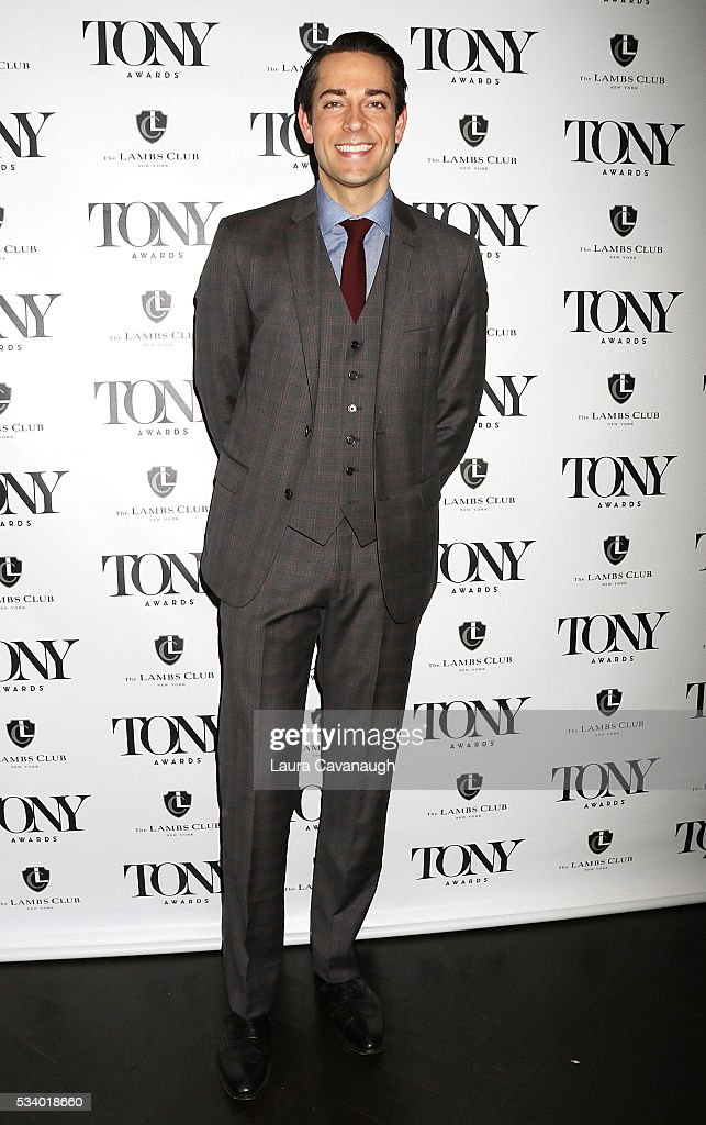 <a gi-track='captionPersonalityLinkClicked' href=/galleries/search?phrase=Zachary+Levi&family=editorial&specificpeople=242766 ng-click='$event.stopPropagation()'>Zachary Levi</a> attends A Toast to The 2016 Tony Awards Creative Arts Nominees on May 24, 2016 in New York City.