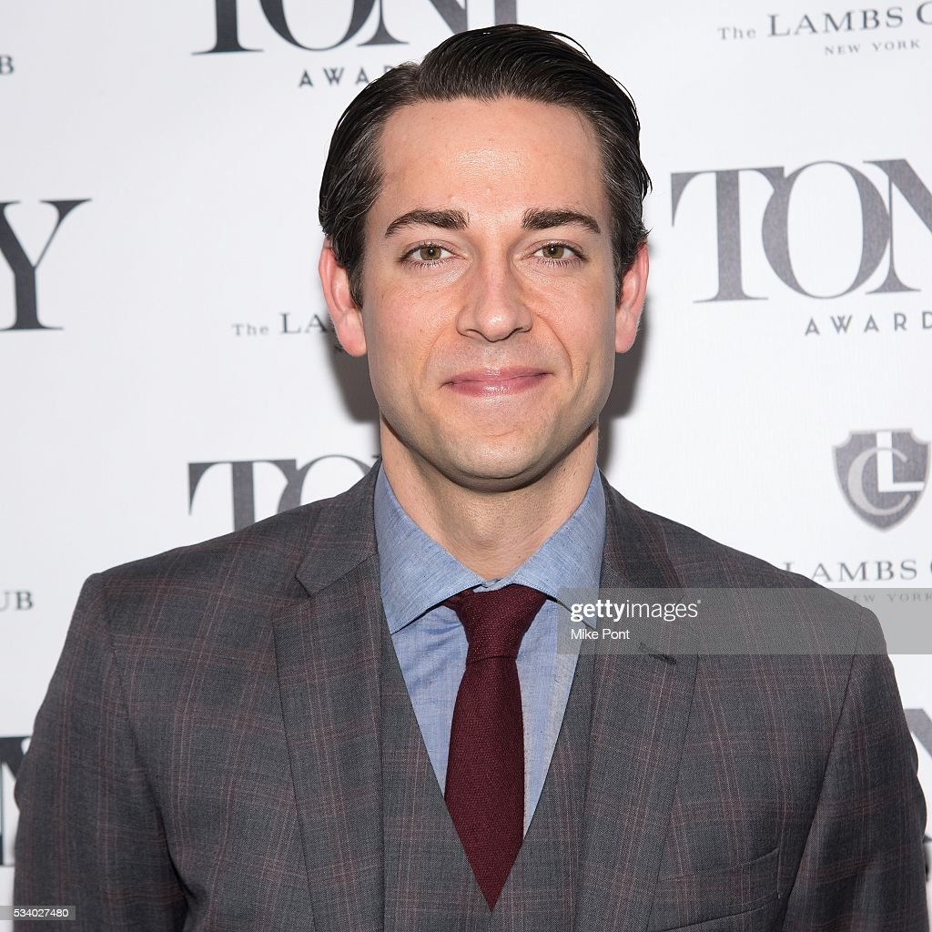 <a gi-track='captionPersonalityLinkClicked' href=/galleries/search?phrase=Zachary+Levi&family=editorial&specificpeople=242766 ng-click='$event.stopPropagation()'>Zachary Levi</a> attends A Toast to the 2016 Tony Awards Creative Arts Nominees at The Lambs Club on May 24, 2016 in New York City.