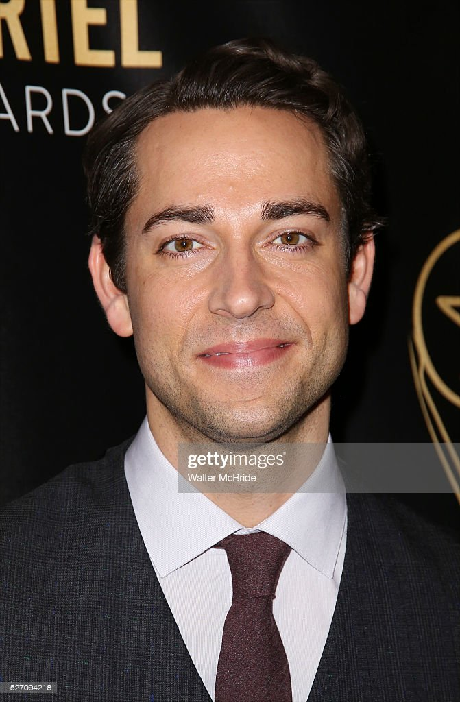<a gi-track='captionPersonalityLinkClicked' href=/galleries/search?phrase=Zachary+Levi&family=editorial&specificpeople=242766 ng-click='$event.stopPropagation()'>Zachary Levi</a> attends at the 31st Annual Lucille Lortel Awards at NYU Skirball Center on May 1, 2016 in New York City. attend at the 31st Annual Lucille Lortel Awards at NYU Skirball Center on May 1, 2016 in New York City.