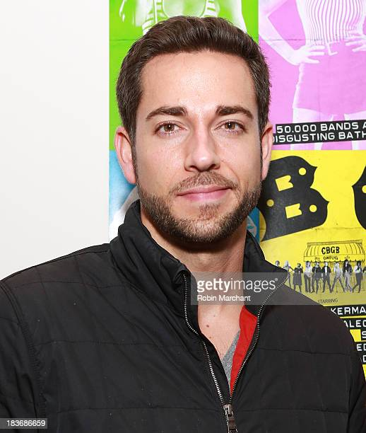 Zachary Levi attends CBGB Private NYC Cast Party Powered by Ciroc Vodka on October 8 2013 in New York City