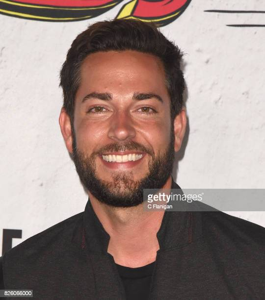 Zachary Levi attends Entertainment Weekly's annual ComicCon party in celebration of ComicCon 2017 at Float at Hard Rock Hotel San Diego on July 22...